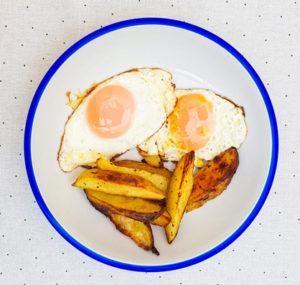 huevos con patatas delinut ourense
